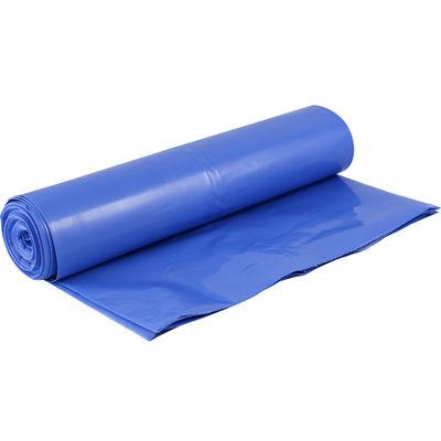 Plastsäck blå/vit 125 liter /80