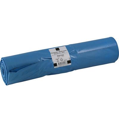 Plastsäck blå/svart 240 liter /10