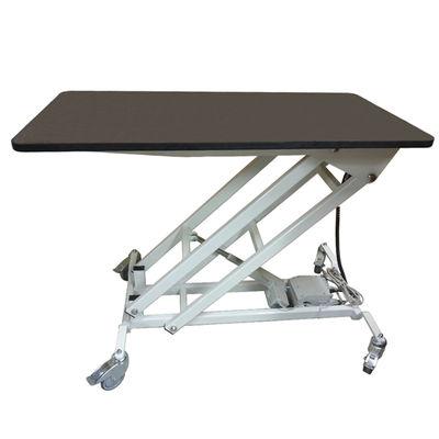 Undersökningsbord med gummiklädd skiva 60x120 cm