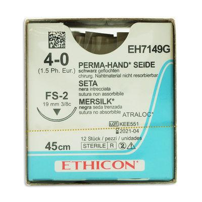 Silke EH7149G svart 4/0 omvänt skärande nål FS-2 45 cm /12