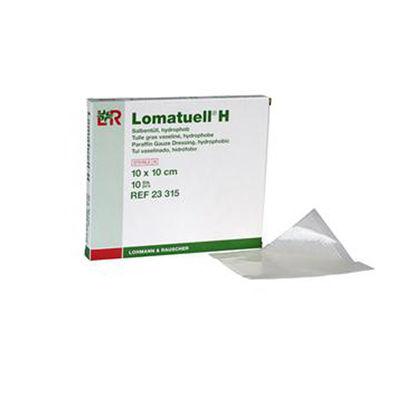 Lomatuell H salvkompress med paraffin 10x10 cm /10