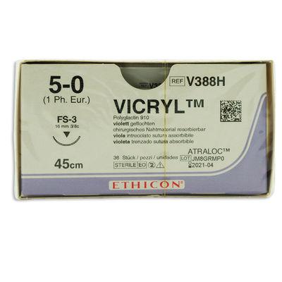 Vicryl V388H lila 5/0 omvänt skärande nål FS-3 45 cm /36