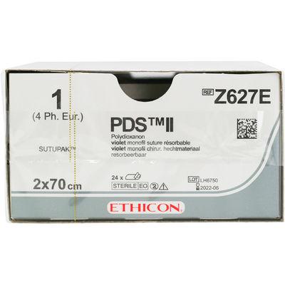 PDS II  Sutupak Z627E lila 1 2x70 cm /24