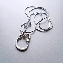 Life Silver heart and chain