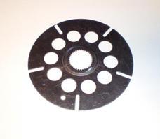 Clutch disc metal, upper