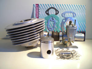 Trimsats 5 hk Zundapp, Päroncylinder