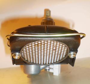 Luftburk 17mm, med 52mm filter