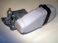 Förgasare Sachs17mm med gråburk (insugningsljuddämpare)