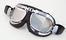 Goggles Silver Glass