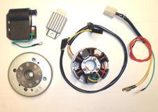 complete CDI system 12v 50cc , Kokusan orginal