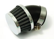 Luftfilter Uni. böjt 45° 35mm