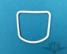 speedometer lens rubber, white