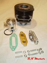 Membrane Cylinder set Sachs 38mm Complete