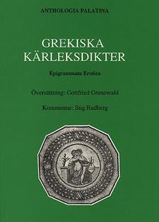 Anthologia Palatina. Bok V. Epigrammata erotica.