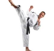 TOPTEN Premium Gold Edition, Master Instructor ITF Dobok, 4-6 DAN