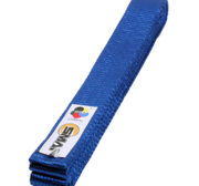 Belt with WKF logon, Blue
