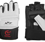 WTF Handske Vit/Svart, XS-XL