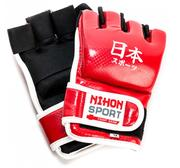 Nihon Sport Jujutsu handskar, Röd