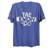 Topten T-shirt, ITF Taekwon-Do, Blå