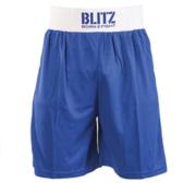 Blitz Boxningsshorts, Blå Small