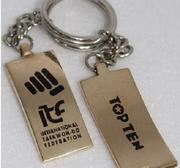 Nyckelring ITF Taekwon-Do 2013, svart