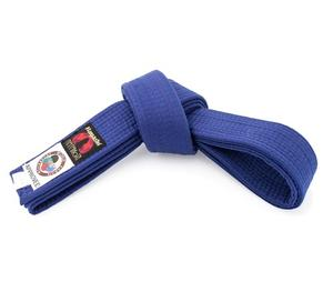 Belt with WKF logon, Competition Blue
