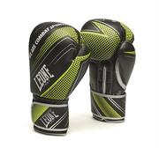 Leone Boxhandske Blitz , Svart/Grön 10-16 oz