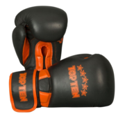 "Topten Boxingglove ""Elite"", Black/Orange 12 oz"