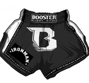 Booster Pro Thaishorts, IRONMAN Black