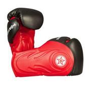 Topten Boxningshandske Hero, Röd/Svart 12 och 16 oz