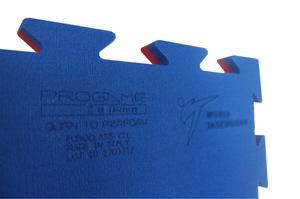 Trocellen Pusselmatta WT recognized Blå/Röd, 1x1 meter / 2,2 cm