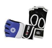 Topten Ultimate Fight MMA handske, Blå/Vit