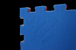 Trocellen Pusselmatta WKF recognized Blå/Röd, 1x1 meter / 2 cm