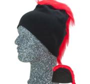 Frigg Beanie, Black/Red One size