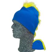 Frigg Beanie, Blue/Yellow One size