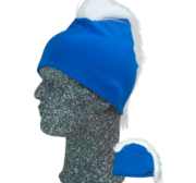 Frigg Beanie, Blå/Vit One size