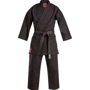 Blitz Silver Karate Dräkt,  Svart 14 oz
