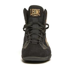 Leone Premium Boxningsko, Svart/Guld