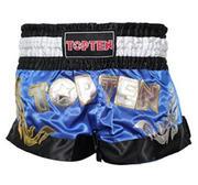 Topten Thaiboxningshorts Pro, Blå