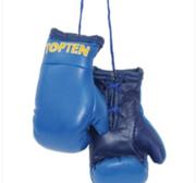 Mini boxhandskar Topten, Blå