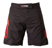 "Topten MMA Board Shorts ""Triangle"" Svart/Röd"