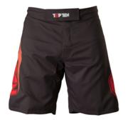 "Topten MMA Board Shorts ""Triangle"" Black/Red"