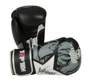 Topten Boxingglove Vikings, Black/White 10-14 oz