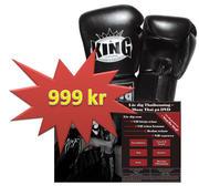 PAKET DVD + King Thaiboxhandske,12 oz