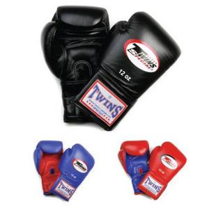 Twins Thaiboxhandske Kort kardborr, 10-16 oz