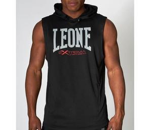 Leone Extrema 3 Sleeveless Hood Svart