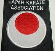 Broderat Märke Japan Karate