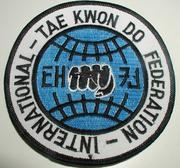 Broderat Märke ITF TKD