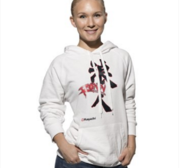 "Hayashi Hooded Sweatshirt ""Ronin""  White"