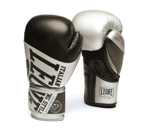 Leone Boxhandske Next Svart/Silver 10-16 oz